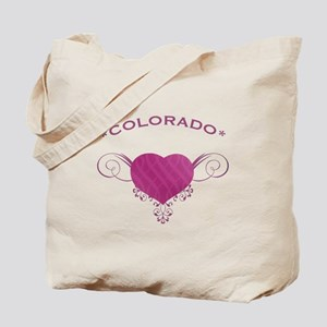 Colorado State (Heart) Gifts Tote Bag