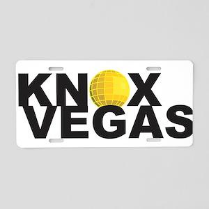 Knoxvegas v2 Aluminum License Plate