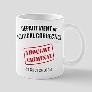 Thought Criminal Small Mug