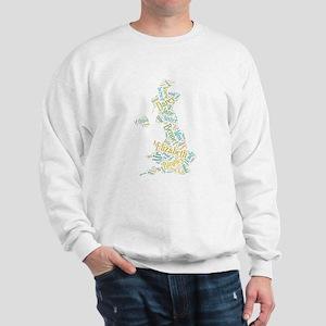 Pride and Prejudice Map Sweatshirt