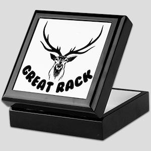 GREAT RACK Keepsake Box