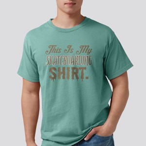 This Is My Skateboarding Mens Comfort Colors Shirt