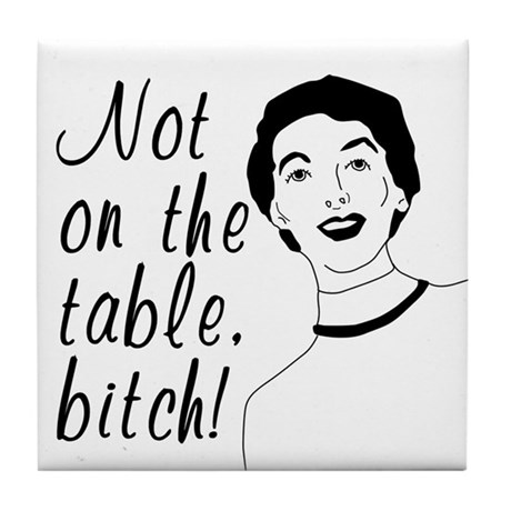 Funny Retro Woman Coaster