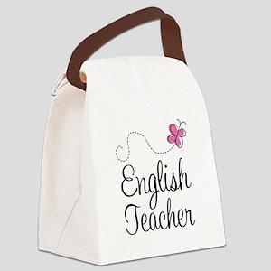 English Teacher Canvas Lunch Bag