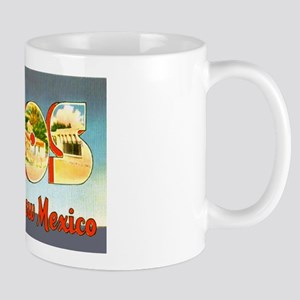 Taos New Mexico Greetings Mug