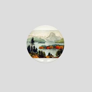 Lake Memphremagog--Owls Head - 1880 Mini Button