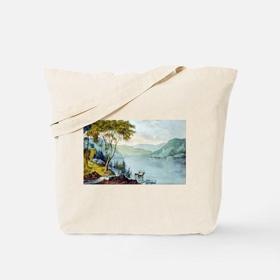 Lake George N.Y. - 1907 Tote Bag