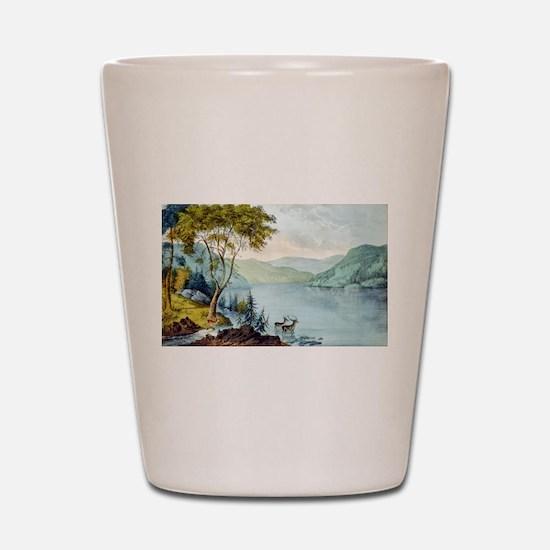 Lake George N.Y. - 1907 Shot Glass