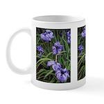 Purple Irises #1 Mug