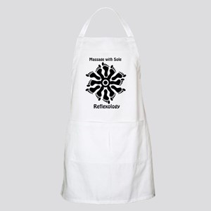 Reflexology Foot Circle BBQ Apron