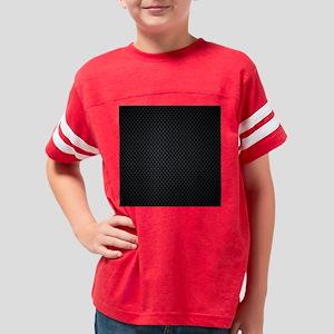 Carbon Mesh Pattern Youth Football Shirt