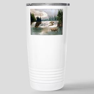 Falls of the Ottawa River Canada - 1856 Mugs