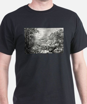 Enoch Arden - the lonely isle - 1869 T-Shirt