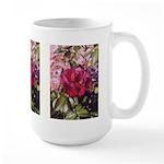 Burgundy Rose - Large Mug