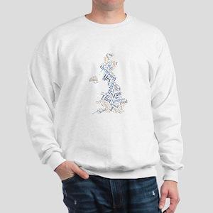 Persuasion Word Cloud Sweatshirt