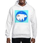 Polar Bear Hooded Sweatshirt