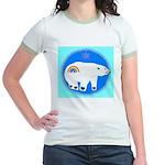Polar Bear Jr. Ringer T-Shirt