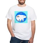 Polar Bear White T-Shirt