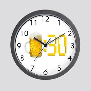BEER : 30 Wall Clock