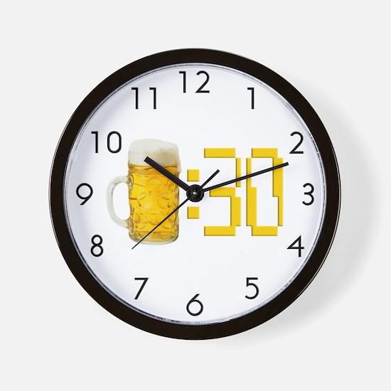 Beer Clocks | Beer Wall Clocks | Large, Modern, Kitchen Clocks
