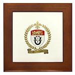 GAUDREAUX Family Crest Framed Tile