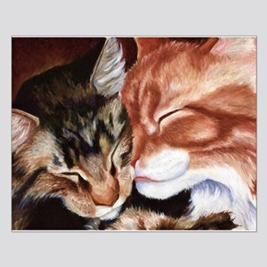 Kitty Kisses Small Poster