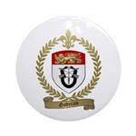 GODREAU Family Crest Ornament (Round)