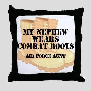 AF Aunt Nephew DCB Throw Pillow