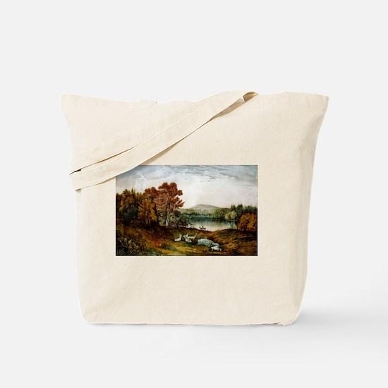 Autumn on Lake George - 1907 Tote Bag