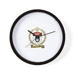 GAUDREAU Family Crest Wall Clock