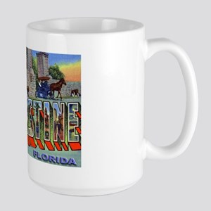 St. Augustine Florida Greetings Large Mug