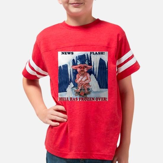 1-News Flash T Youth Football Shirt