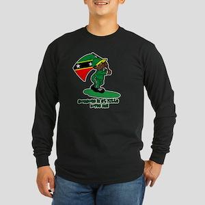 3-1someone_stkitts Long Sleeve T-Shirt