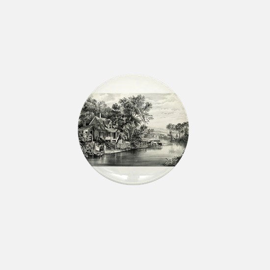 A summer retreat - 1869 Mini Button