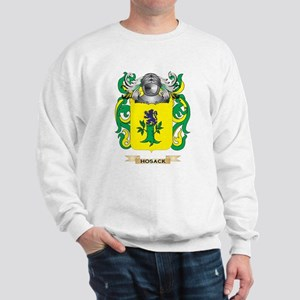 Hosack Coat of Arms (Family Crest) Sweatshirt