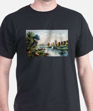 A scene in old Ireland - 1907 T-Shirt