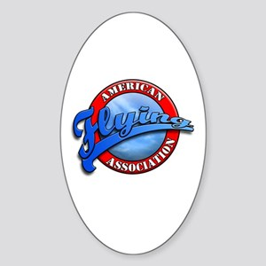 American Flying Association Oval Sticker