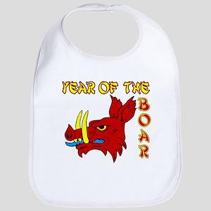 Chinese Boar Bib