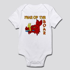 Chinese Boar Infant Bodysuit