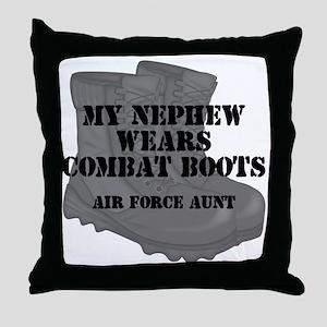 AF Aunt Nephew CB Throw Pillow