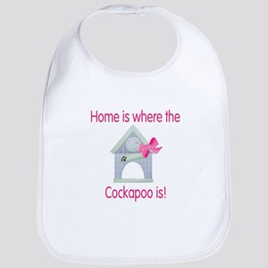Home is where the Cockapoo is Bib