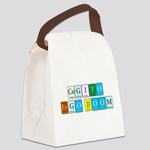 Cogito Ergo Boom Canvas Lunch Bag