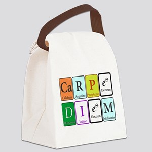 Carpe Diem Canvas Lunch Bag