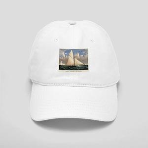 Yacht Puritan of Boston - 1885 Baseball Cap