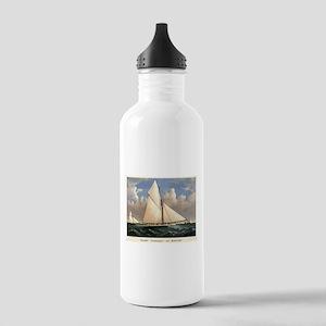 Yacht Puritan of Boston - 1885 Water Bottle