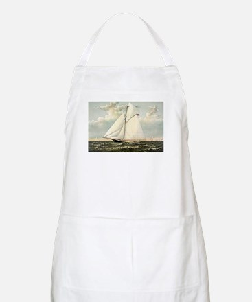 Yacht Gracie of New York - 1882 Light Apron