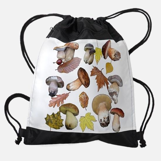Boletus Drawstring Bag