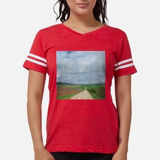 Funny Camino de santiago Womens Football Shirt
