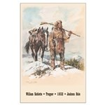 William Sublette - 23x35 inch poster