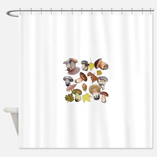 Boletus Shower Curtain
